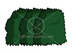 Cartoon Bush Clipart Picture | Royalty Free Bush Clip Art Licensing.