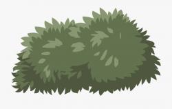 Bush Shrub Green Nature Plant Lush Landscape - Transparent ...