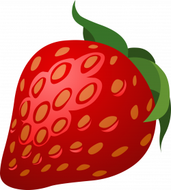 Food Strawberry by @glitch, This glitch clipart is about food ...