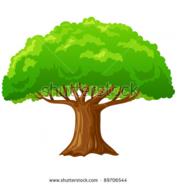 Bush clipart group tree - Pencil and in color bush clipart group tree