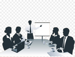 Business networking Presentation Clip art - Business people meeting ...