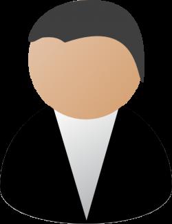 Business Person Black Clip Art at Clker.com - vector clip art online ...