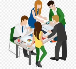 Meeting Cartoon Businessperson Clip art - business people png ...