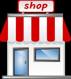Shop Front Icon Clip Art at Clker.com - vector clip art online ...