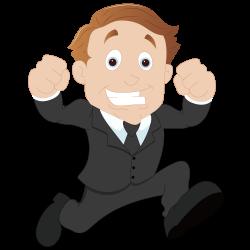 Cartoon Sales Businessperson Clip art - Running businessman 1500 ...