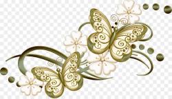 Butterfly Heart Burgundy Clip art - wedding ornament png download ...