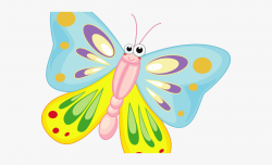 Cartoon Butterfly Pictures - Transparent Background Cartoon ...