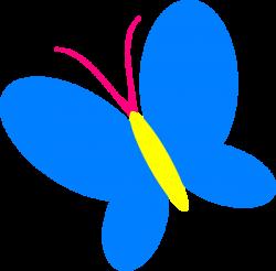 Blue Butterfly Clip Art at Clker.com - vector clip art online ...