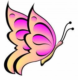Pink Butterfly Clipart | Clipart Panda - Free Clipart Images