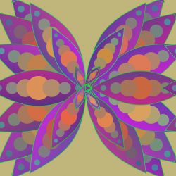 Mandala Butterfly Free Stock Photo - Public Domain Pictures