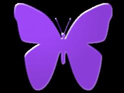 Purple Butterfly Clip Art by TheStockWarehouse on DeviantArt