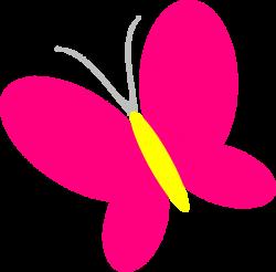 Pink Butterfly Clip Art at Clker.com - vector clip art online ...