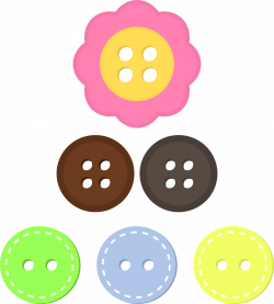 Clipart - Assorted Buttons