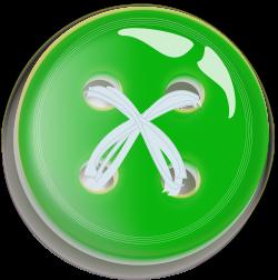 Clipart - Green Button Button