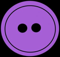 Purple Button Clip Art - Purple Button Image