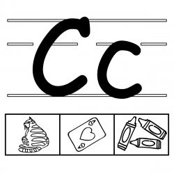 Clip Art: Alphabet Set 01: C | Clipart Panda - Free Clipart Images