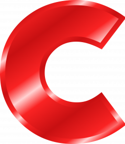 Clipart - Effect Letters Alphabet red
