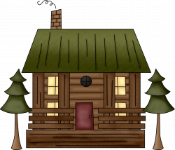 Cottage clipart animated - Pencil and in color cottage clipart animated