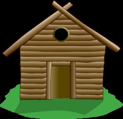 Building A Cabin Clipart