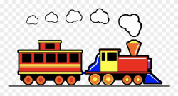 Toy Train - Toy Train Long Clipart - Png Download (#635601 ...