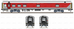 LHB AC HOT BUFFET coach used by Pantry car in Indian Railways ...