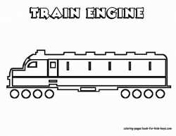 Train Engine Coloring Page   Clipart Panda - Free Clipart Images