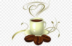 Coffee cup Cafe Latte Clip art - cafe graphic png download - 600*571 ...