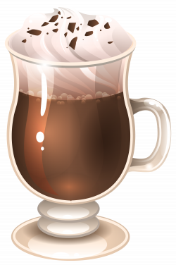 Glass Of Coffee Latte PNG Image | Gallery Yopriceville - High ...
