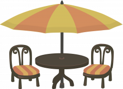 Outdoor cafe seating Icons PNG - Free PNG and Icons Downloads