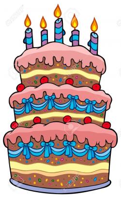 Big Cake Clipart