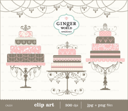 Cake clipart classy - Pencil and in color cake clipart classy