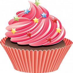 Cup Cake Clipart Group (54+)