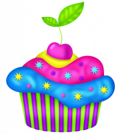 Cupcake 2.png | Clip art, Cup cakes and Cups