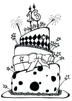 Birthday Drawing Images at GetDrawings.com | Free for personal use ...