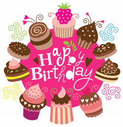 Happy Birthday Clipart with Cakes Image | Gallery Yopriceville ...