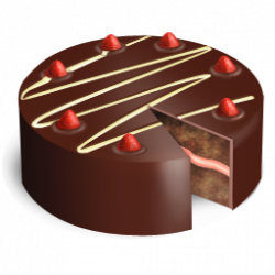 Chocolate Cake Whole Icon, PNG ClipArt Image   IconBug.com