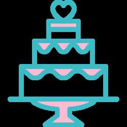 birthday, sweet, Wedding Cake, Dessert, food, Bakery icon