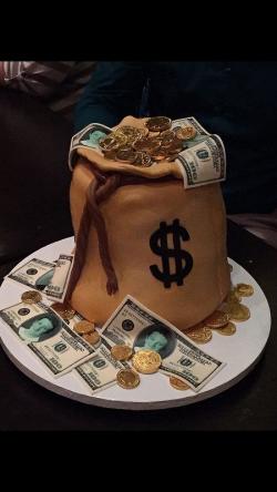 Money Birthday Cake Design | Reha Cake