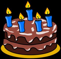 Birthday Cake 2 Clip Art at Clker.com - vector clip art online ...