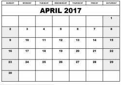 april blank calendar - Incep.imagine-ex.co
