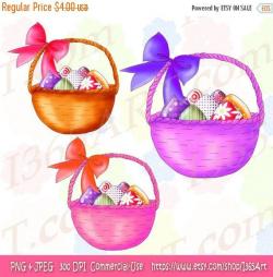 Easter Clipart Clip art, Easter Egg Clipart, Easter Basket Clip Art ...