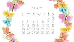 March free desktop calendar