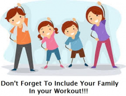 A family that is healthy and active together is a happier family so ...