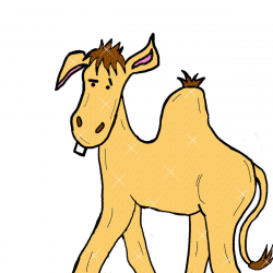 Camel clipart animated gif - Pencil and in color camel clipart ...