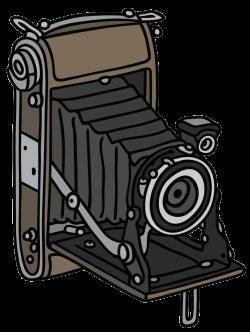 Camera Drawing Photography Clip art - Brown classical camera 751 ...