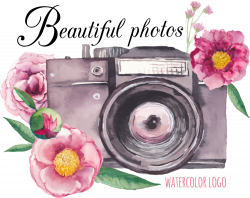 Camera Flower Drawing - Vector camera 1000*794 transprent Png Free ...