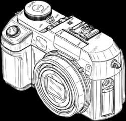 Digital Camera Clip Art at Clker.com - vector clip art online ...
