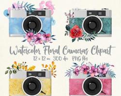 Camera clip art | Etsy
