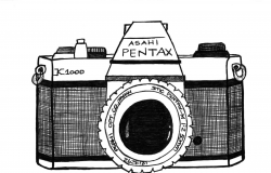 28+ Collection of Old Fashioned Camera Drawing | High quality, free ...