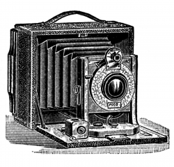 Antique Pictures - Camera, Stereoscope, Ear Trumpet - The Graphics Fairy